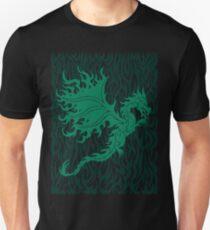 Fire Dragon 2.1 Green Unisex T-Shirt