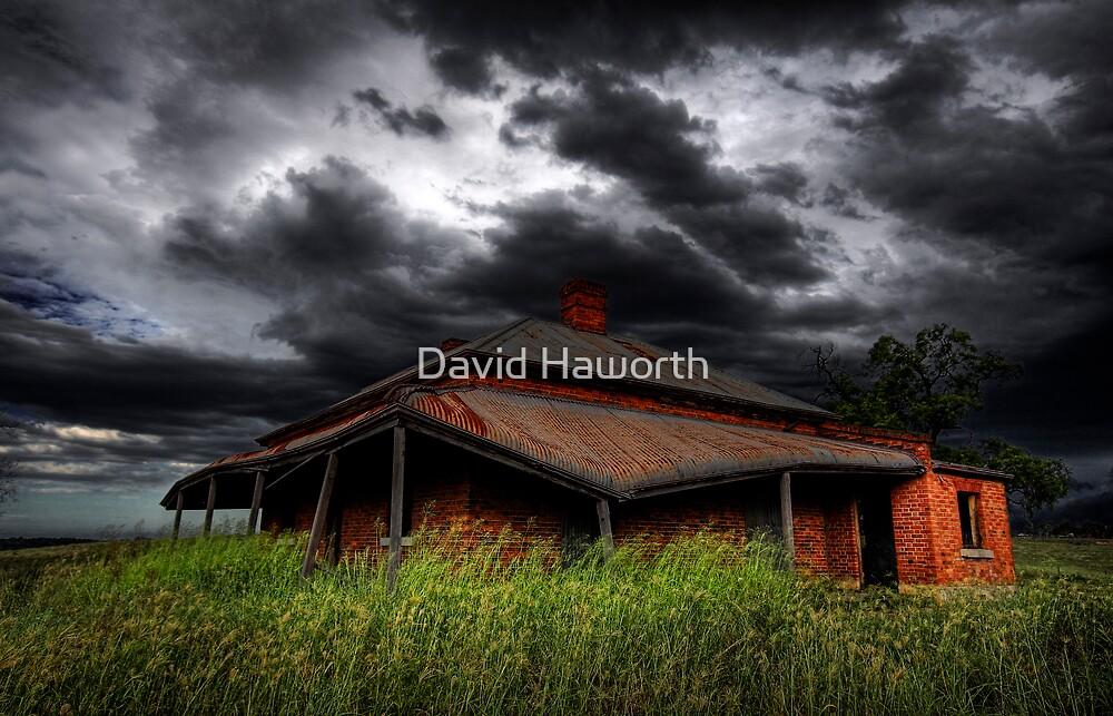 Tumbledown Cottage by David Haworth