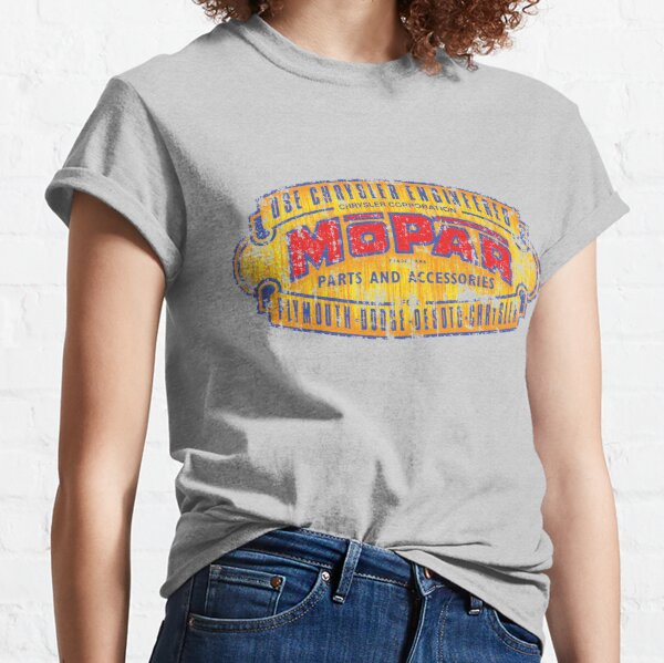 Vintage Mopar Parts Sign Classic T-Shirt