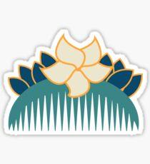 Blooms in Adversity Sticker