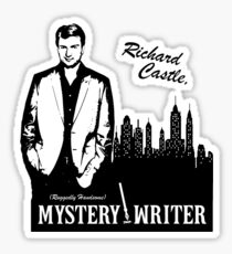Richard Castle, Mystery Writer Sticker