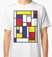 MONDRIAN HOMAGE Classic T-Shirt
