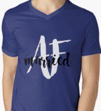 Married AF Mens V-Neck T-Shirt
