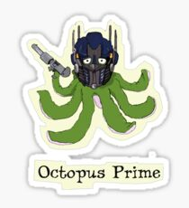 Octopus Prime Sticker