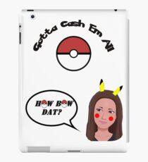 Catch Me Outside Girl vs Pokemon iPad Case/Skin