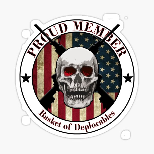 Basket of Deplorables - US Sticker