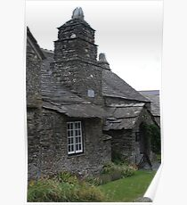 Tintagel Post Office Poster