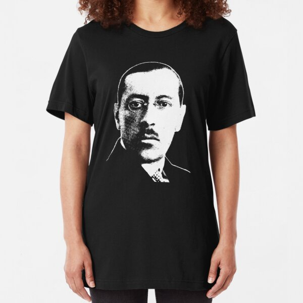 Igor Stravinsky - Absolute Genius Slim Fit T-Shirt