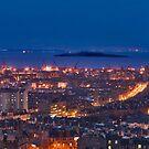 Edinburgh at Night by Chris Clark