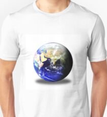 Earth Globe East Shadow T-Shirt