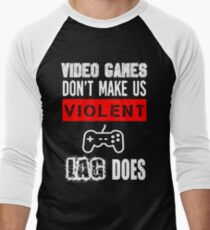 VIDEO GAMES Men's Baseball ¾ T-Shirt