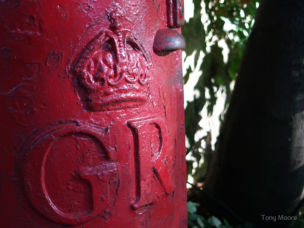 Old Post Box by Tony Moore