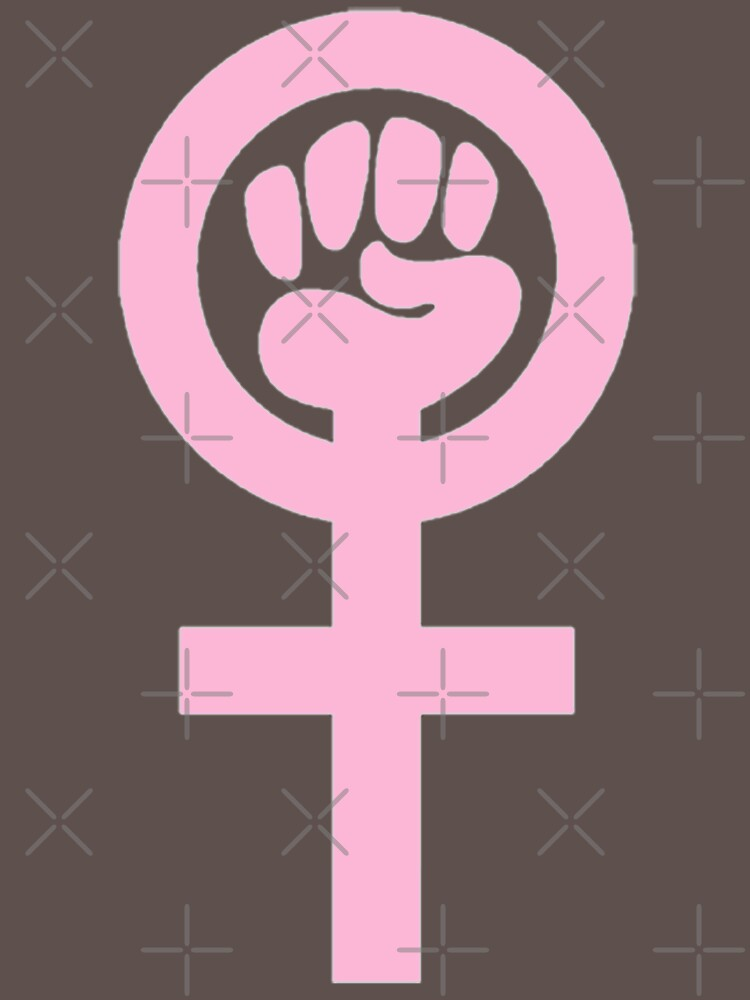 Woman Feminist Power Symbol 4 by Thelittlelord