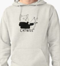 Catniss of District 12 Pullover Hoodie
