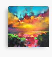 Consonance and Dissonance Canvas Print
