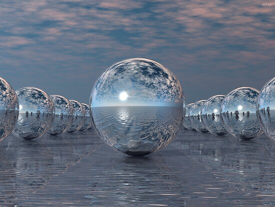 Spheres In The Sun by Phil Perkins