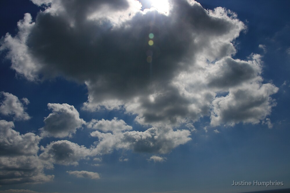 Cloudy Sky by Justine Humphries