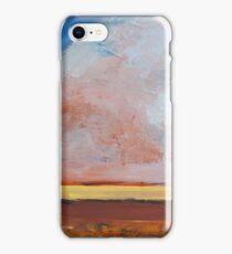 Dust Cloud West Texas  iPhone Case/Skin