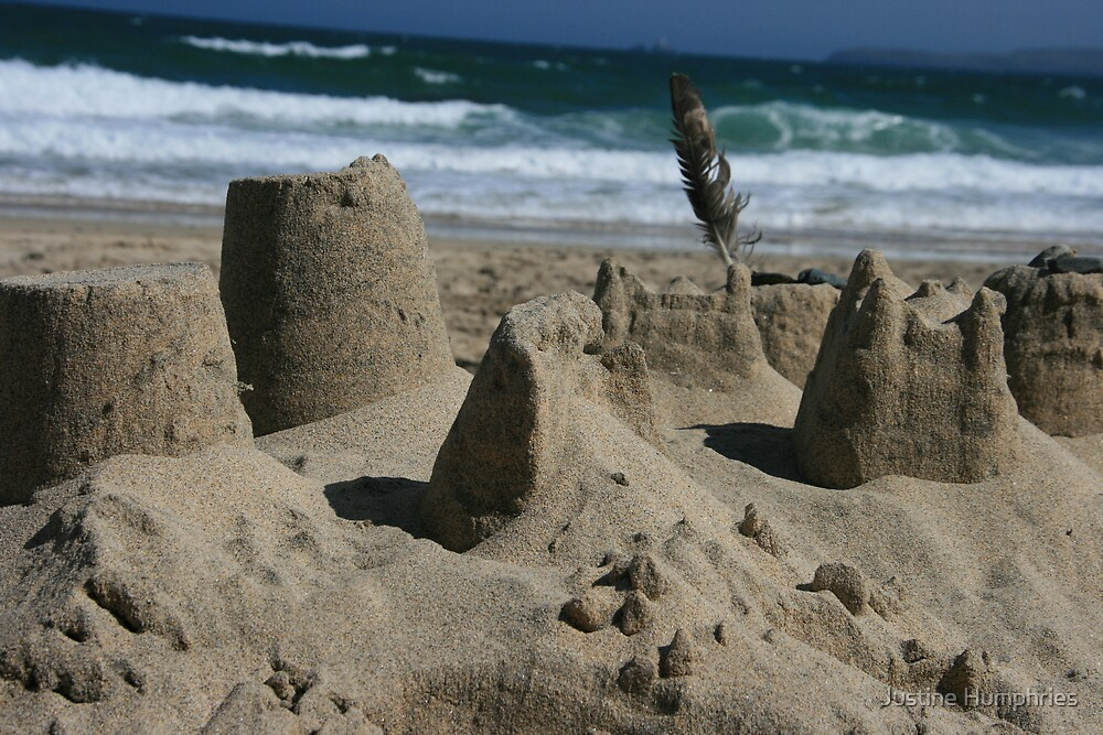 Sandcastles by Justine Humphries