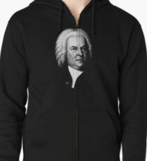 Johann Sebastian Bach, Perhaps the Greatest Composer Ever Zipped Hoodie