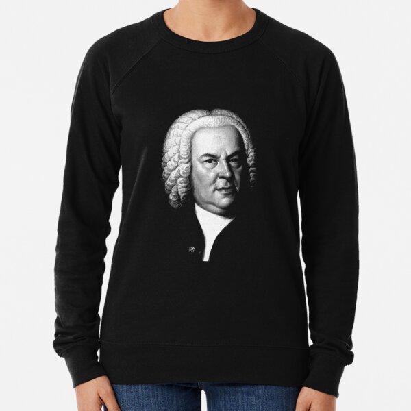 Johann Sebastian Bach, Perhaps the Greatest Composer Ever Lightweight Sweatshirt