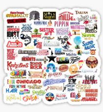 Musical Theatre Greats Sticker