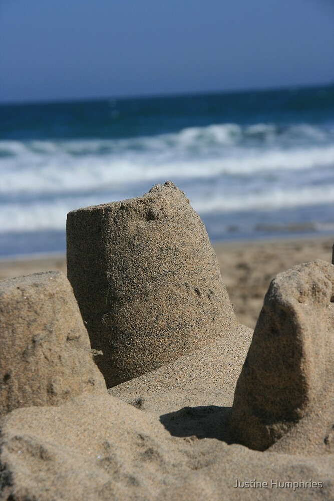 Sandcastles II by Justine Humphries