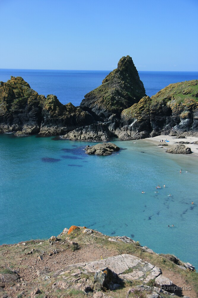 Kynance Cove by Justine Humphries