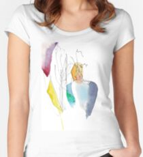 Human Women's Fitted Scoop T-Shirt