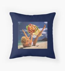 M Blackwell - Incoming Throw Pillow