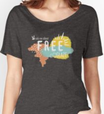 Free Glaze  Women's Relaxed Fit T-Shirt