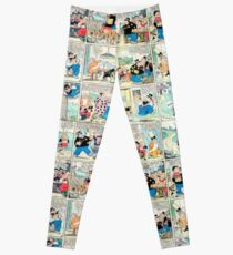 Old comic strip Leggings