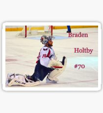 Braden Holtby #70 Sticker