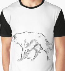 Borzoi Drawing Graphic T-Shirt