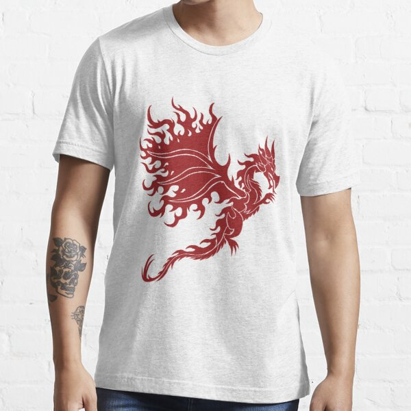 Fire Dragon 1.2 Red Essential T-Shirt