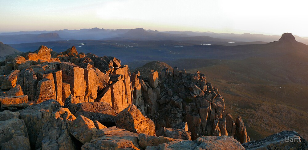 Cradle Mt Sunset by Bartt