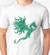 Fire Dragon 2.2 Green Unisex T-Shirt