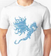 Fire Dragon 3.2 Blue Unisex T-Shirt