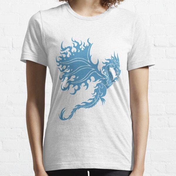 Fire Dragon 3.2 Blue Essential T-Shirt
