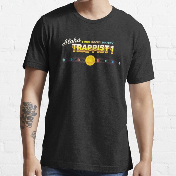 Trappist 1 NASA Rogue Science Planet Space Discovery T-Shirt Essential T-Shirt