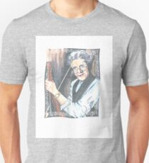 old man and his violin with my daddy's eyes Unisex T-Shirt