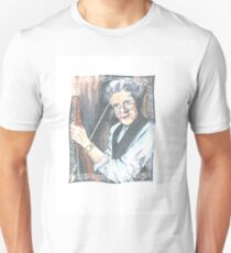 old man and his violin with my daddy;s blue eyes! Unisex T-Shirt