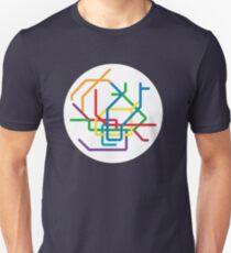 Mini Metros - Hamburg, Germany Unisex T-Shirt