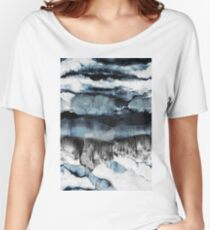 Abstract Marble Women's Relaxed Fit T-Shirt