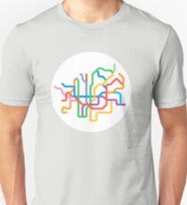 Mini Metros - Barcelona, Spain Unisex T-Shirt