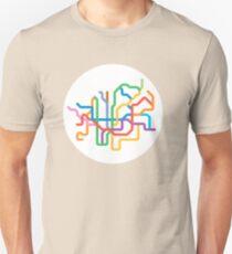 Mini Metros - Barcelona, Spain T-Shirt