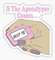 Buffy The Vampire Slayer Beep Me Sticker