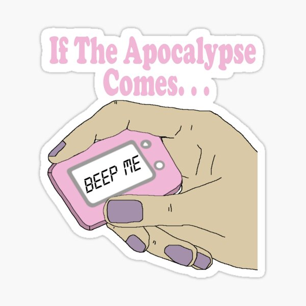 Buffy The Vampire Slayer Beep Me Sticker