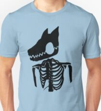 Nuclear Jackal (Design 1 Version 2) Unisex T-Shirt