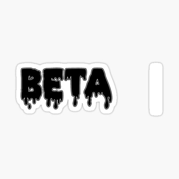 drippy Beta Sticker
